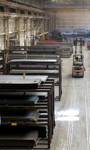 New Mexico Steel Distribution Warehouse